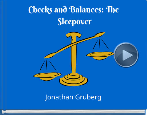 Book titled 'Checks and Balances: The Sleepover'