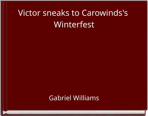 Victor sneaks to Carowinds's Winterfest