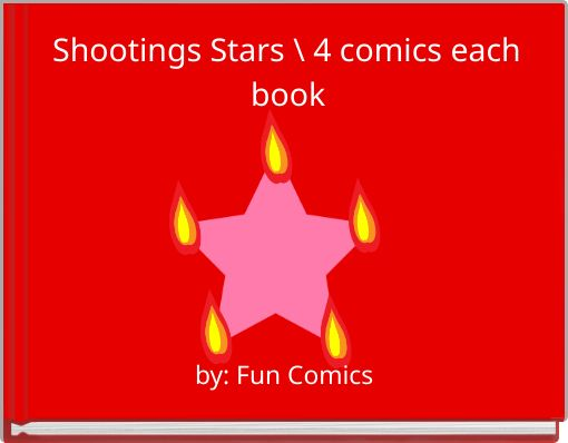 Shootings Stars\ 4 comics each book