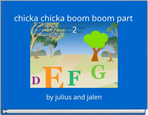 chicka chicka boom boom part 2