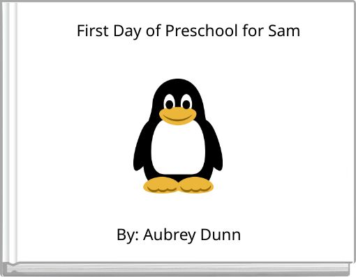 First Day of Preschool for Sam