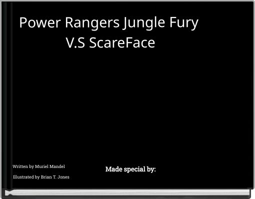 Power Rangers Jungle Fury V.S ScareFace