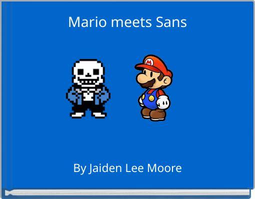 Mario meets Sans