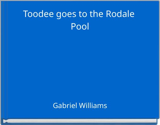 Toodee goes to the Rodale Pool