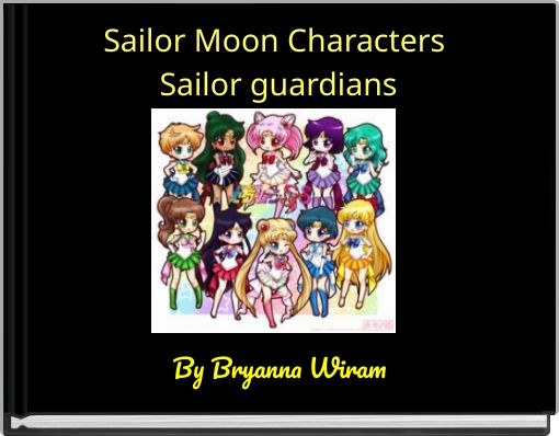Sailor Moon Characters Sailor guardians