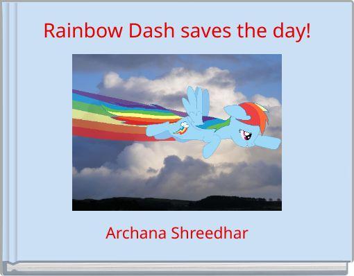 Rainbow Dash saves the day!