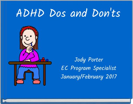 ADHD Dos and Don'ts