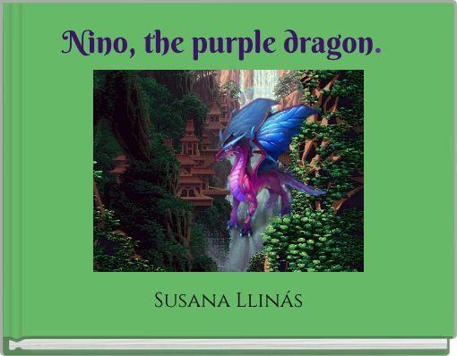 Nino, the purple dragon.
