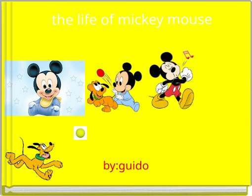 the life of mickey mouse