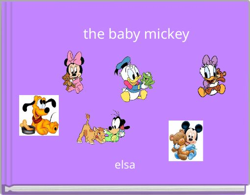 the baby mickey
