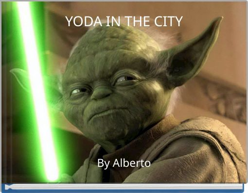 YODA  IN THE CITY