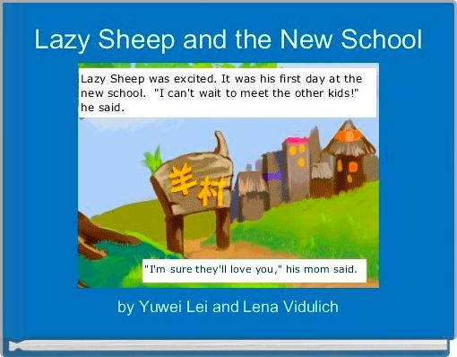 Lazy Sheep and the New School