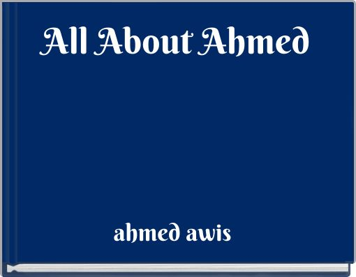 All About Ahmed