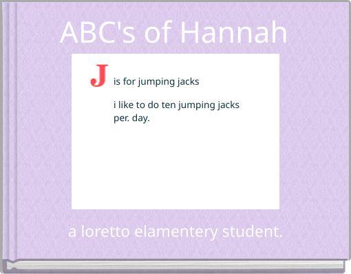 ABC's of Hannah