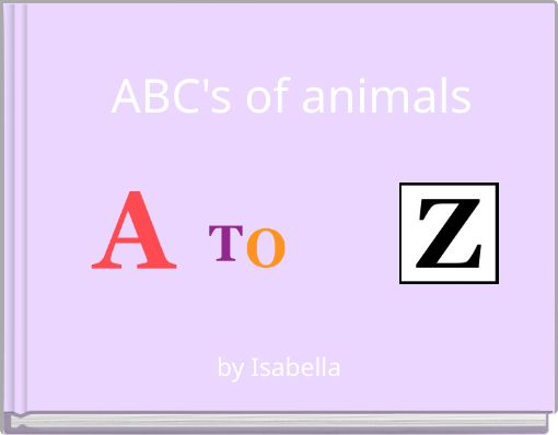ABC's of animals