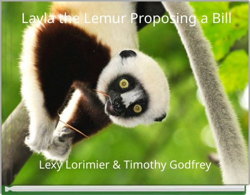 Layla the Lemur Proposing a Bill