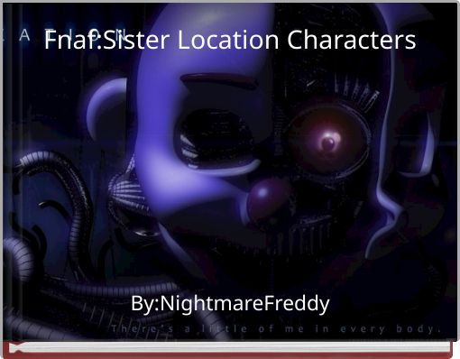 Fnaf:Sister Location Characters