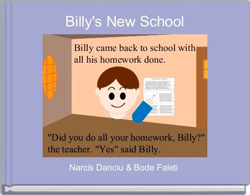 Billy's New School