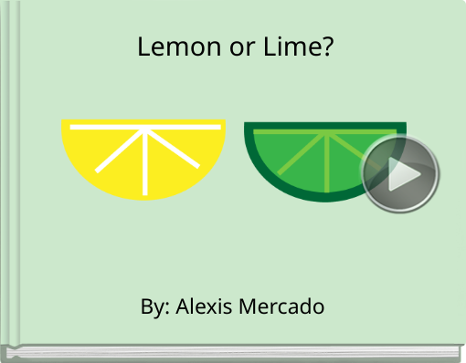 Book titled 'Lemon or Lime?'