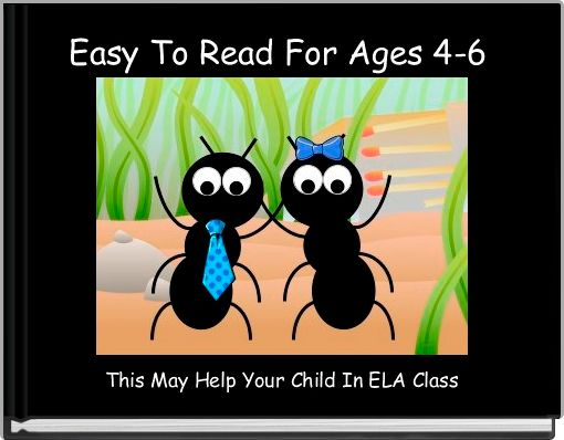 Easy To Read For Ages 4-6