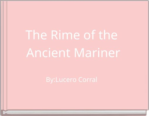rime of the ancient mariner text pdf