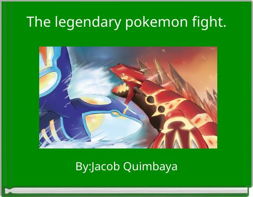 The legendary pokemon fight.