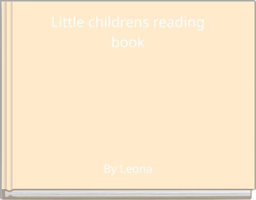 Little childrens readingbook