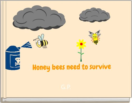 Honey bees need to survive