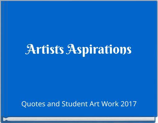 Artists Aspirations
