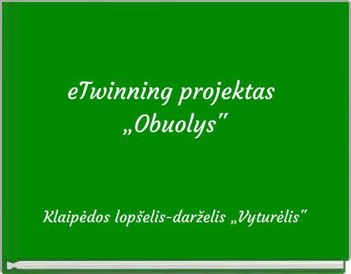 "eTwinning projektas ""Obuolys"