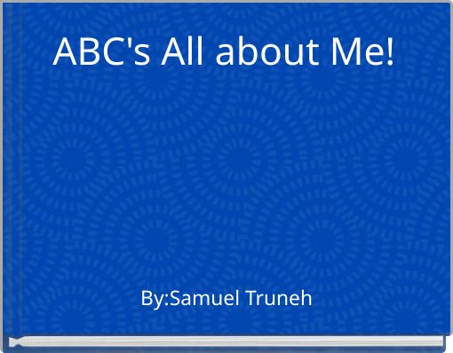 ABC's All about Me!