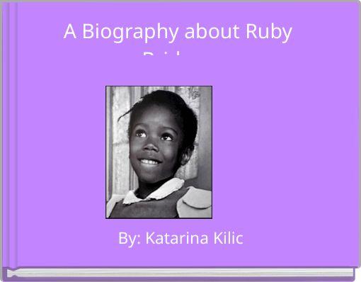 Quot A Biography About Ruby Bridges Quot Free Books Amp Children S