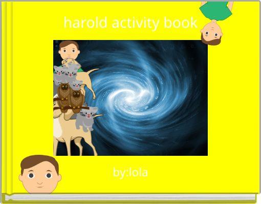 harold activity book