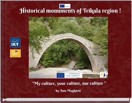 Historical monuments of Trikala region !