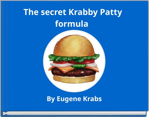 The secret krabby patty     formula