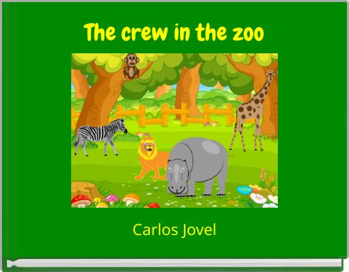 The crew in the zoo