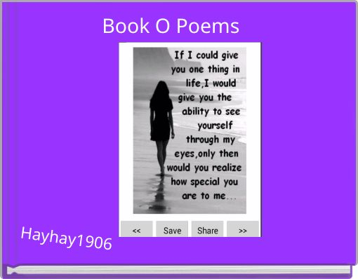 Book O Poems