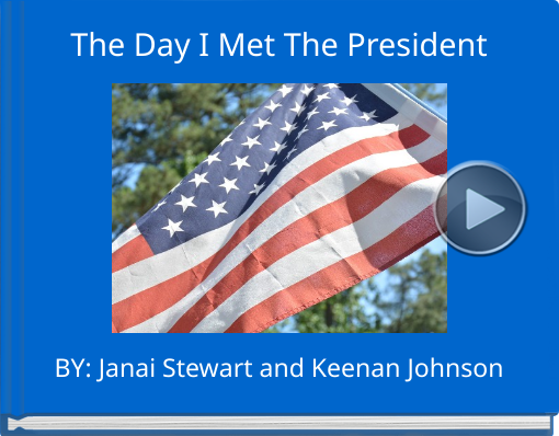 Book titled 'The Day I Met The President'