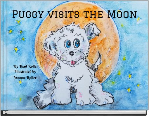 Puggy visits the Moon