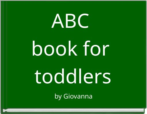 ABC book for toddlers