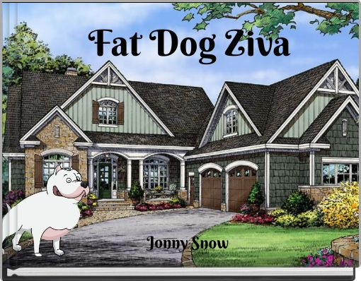 Fat Dog Ziva
