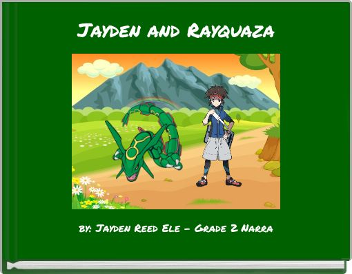 Jayden and Rayquaza