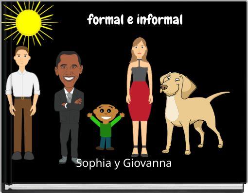 formal e informal