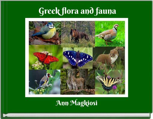 Greek flora and fauna