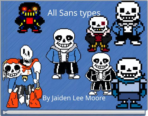 All Sans types