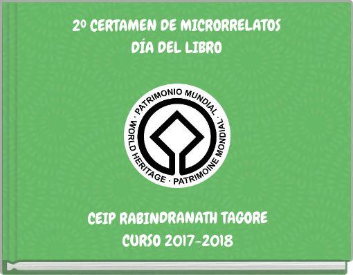 2º CERTAMEN DE MICRORRELATOSDÍA DEL LIBRO