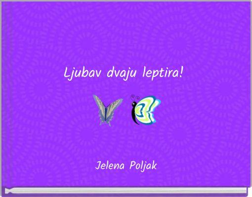 Ljubav dvaju leptira!
