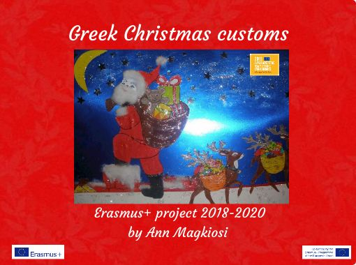 Greek Christmas.Greek Christmas Customs Free Books Children S Stories