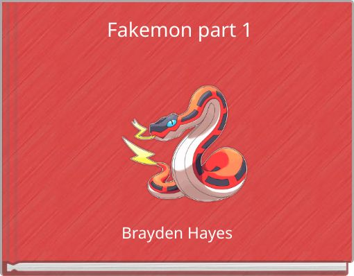 Fakemon part 1