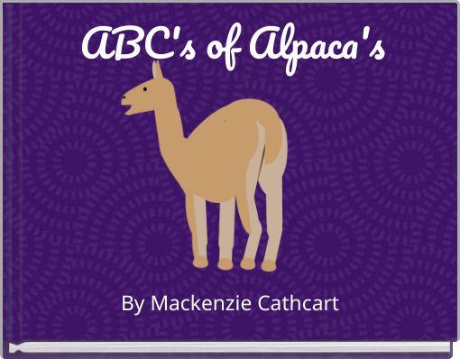 ABC's of Alpaca's